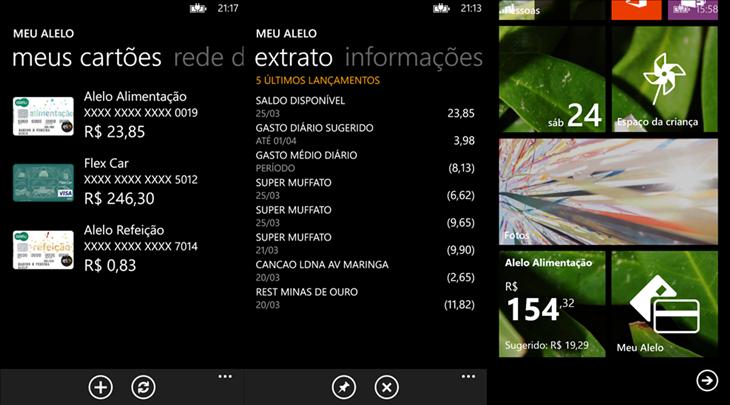 meu alelo app windows phone