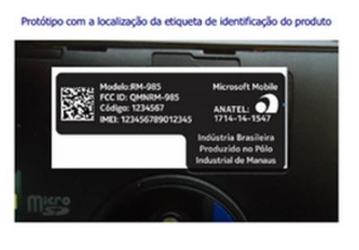 Nokia Lumia 830 homologado pela ANATEL img6