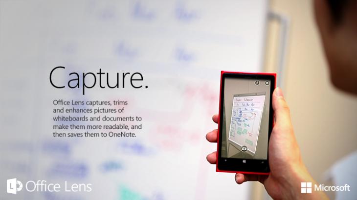 O app do Office Lens foi atualizado e ganhou melhorias