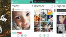 Aplicativo da rede social Selfy ganha duas atualizações e novidades