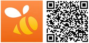 swarm app oficial windows phone qr code