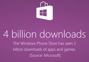 windows phone store 300000 downloads
