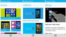 O app Ajuda+Dicas para o Windows Phone 8.1 foi atualizado e saiu do Beta
