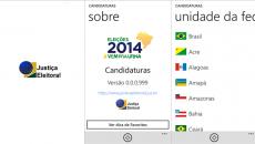 Justiça eleitoral brasileira lança app oficial das Eleições 2014 para o Windows Phone