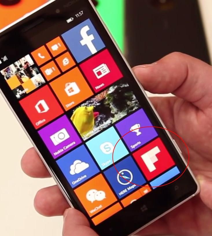 flipboard icone lumia 830 handson ifa 2014