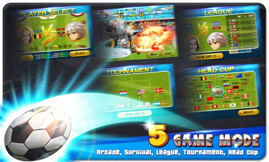head-soccer jogo windows phone img2