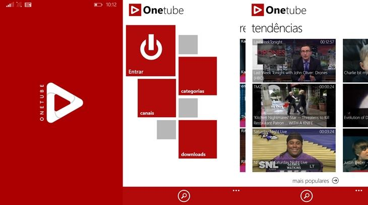 onetube pro youtube windows phone img1