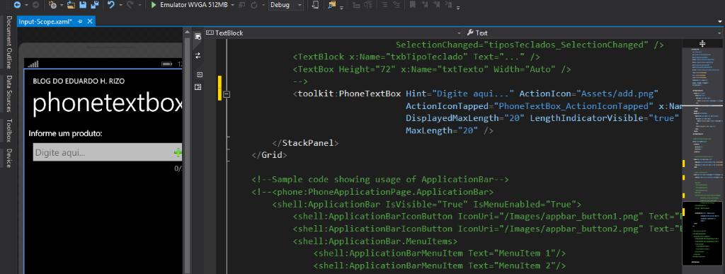 [Desenvolvimento] Criando caixas de texto personalizadas com o componente PhoneTextBox