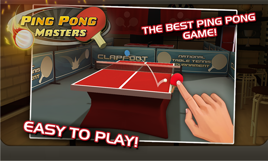 ping pong masters game windows phone img1
