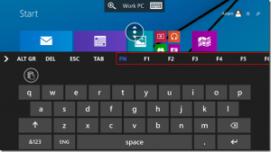 remote desktop app windows phone tecla fn