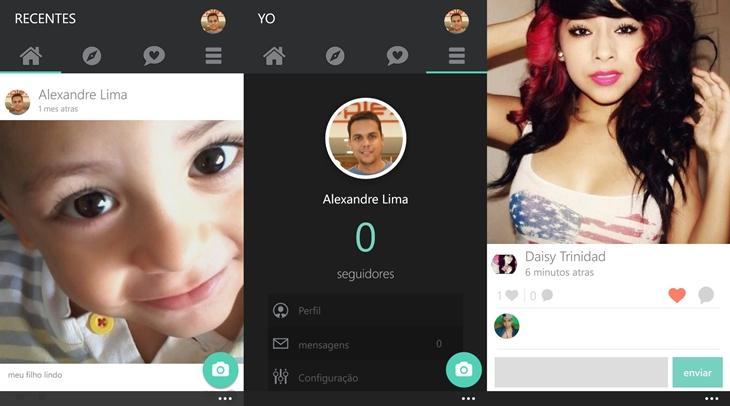 selfy app rede social selfies windows phone app1