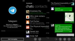 telegram messenger app windows phone img