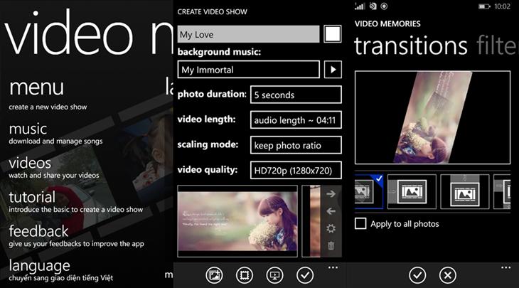 video memories app dicas windows phone img11