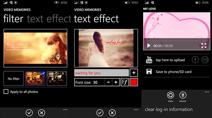 video memories app dicas windows phone img12
