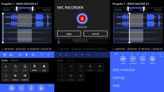 Edite áudio de forma profissional direto no seu Windows Phone com o Wave Master 8.1