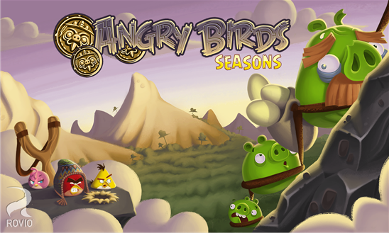 angrt birds seasons jogo windows phone