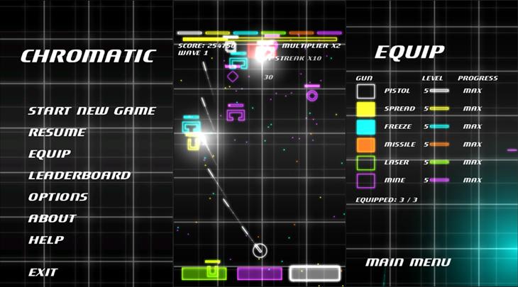 chromatic jogo windows phone