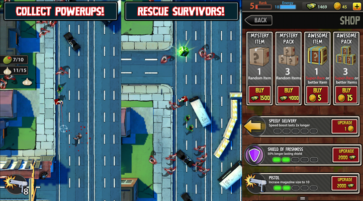 dead on delivery jogo windows phone
