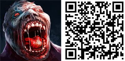 deat target zombie game qr code