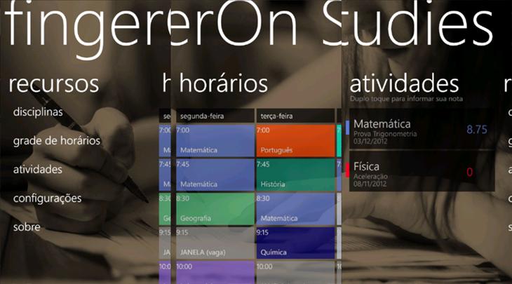 fingeron studies app windows phone