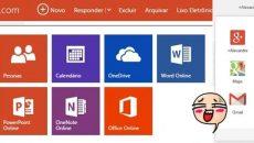 Microsoft promove mudança na interface do Outlook.com e pega ideia da Google