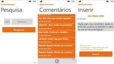 Quem perturba? Um aplicativo de utilidade pública para o seu Windows Phone