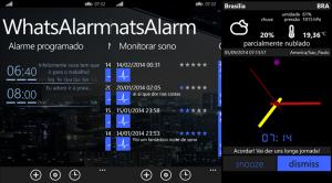 whatsalarm app windows phone