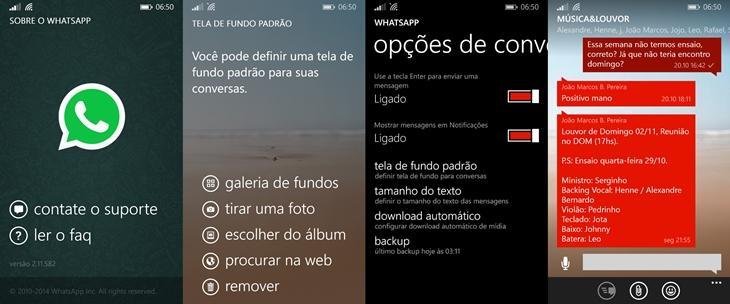 whatsapp beta atualizado windows phone3