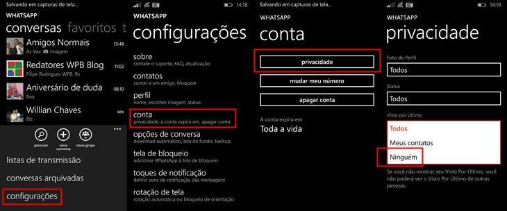 whatstapp dicas windows phone