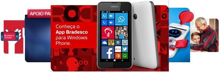 bradesco celular lumia 530