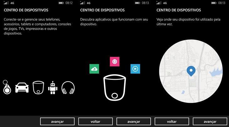 centro de dispositivos windows phone