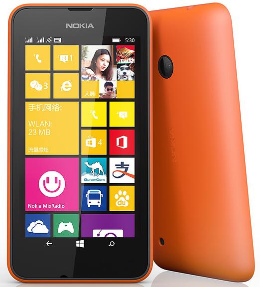 lumia 530 orange