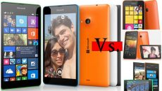 [Comparativo] Lumia 535 contra os Lumias 530, 630, 635, 730 e 735