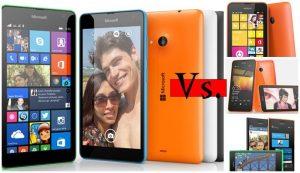 lumia 535 contra todos windows phone