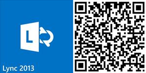 lync app windows phone qr code