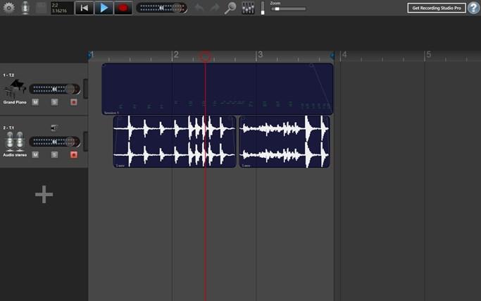 recording studio windows