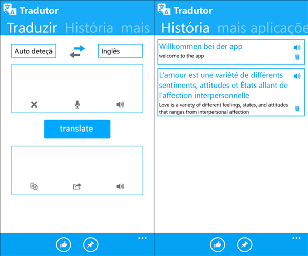 traduzir app windows phone