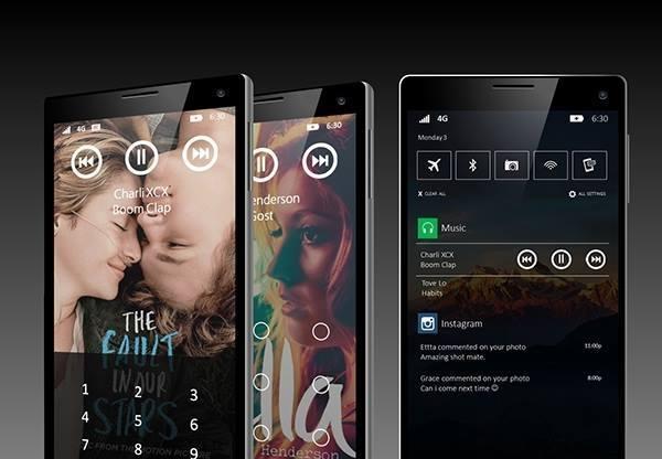 windows 10 conceito 3 smartphone