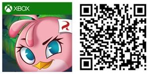 angry birds stella windows phone qrcode