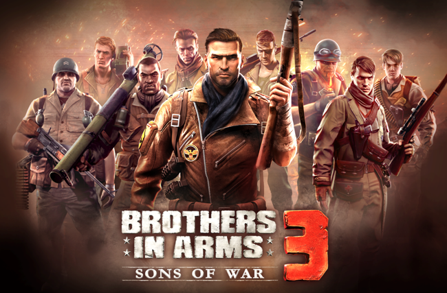 brothers in arms sons of war 3 jogo
