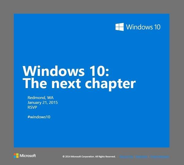 convite evento microsoft janeiro