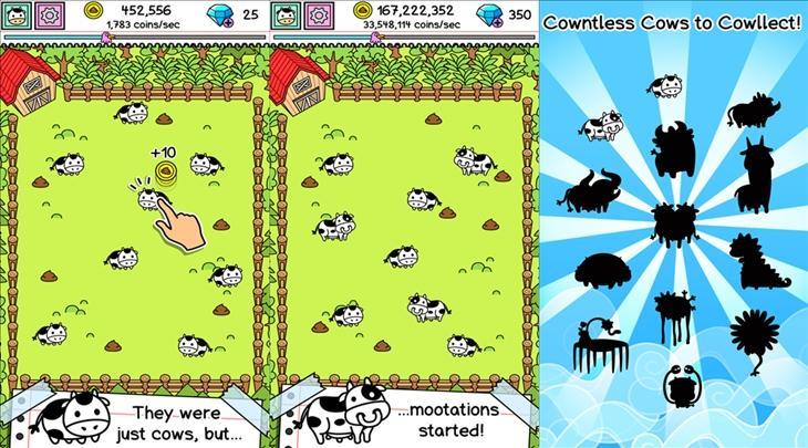cow evolution windows phone
