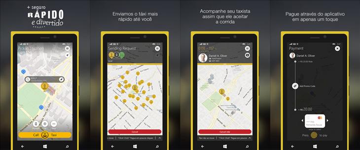 easy taxi windows phone