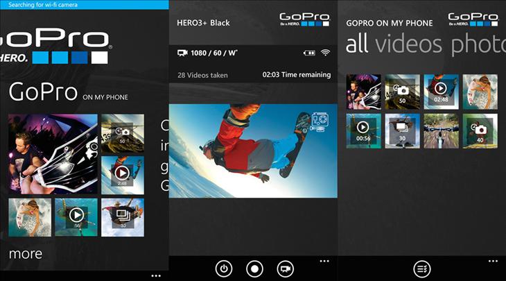 gopro windows phone app