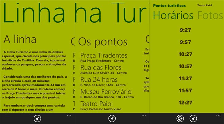 linha turismo app windows phone_1