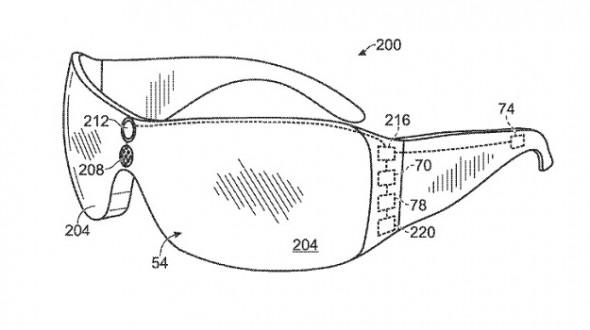 """Patente registrada pela Microsoft de um óculos """"especial"""""""