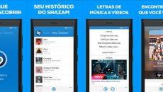 O app Shazam ganhou uma nova atualização e ganhou até uma interface nova