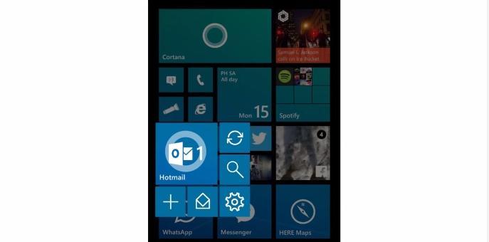 Esses vídeos conceito podem ilustrar aproximadamente como será o Windows 10 para smartphones