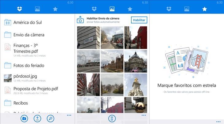 DropBox app oficial windows