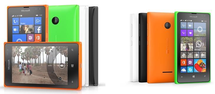 Lumia 523 e Lumia 435 Windows Phone Denim